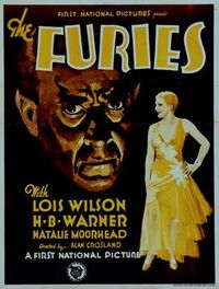 The Furies 1930 Poster
