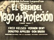 El Vago de Profesion Columbia Pictures