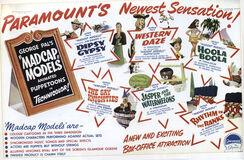 Madcap models trade poster