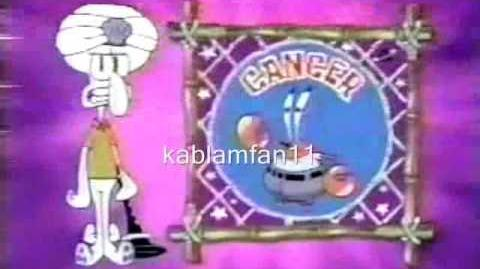 Astrology with Squidward (Missing 2000-2001 Shorts and Missing English Dubs)