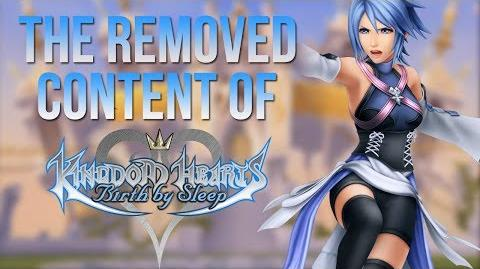 The Removed Content of Kingdom Hearts Birth by Sleep