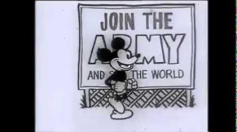 Mickey Mouse in Vietnam (Previously-Lost Silent Animated Short; 1968)