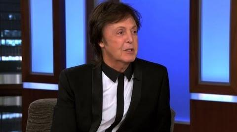 Paul McCartney on Jimmy Kimmel Live PART 3