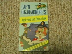 Cap'n O. G. Readmore's Jack and the Beanstalk VHS
