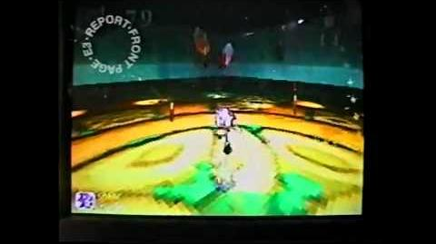 Sonic X-Treme Japanese E3 1996 Footage