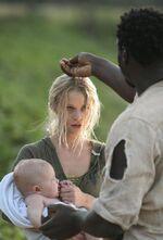 Claire Baptized