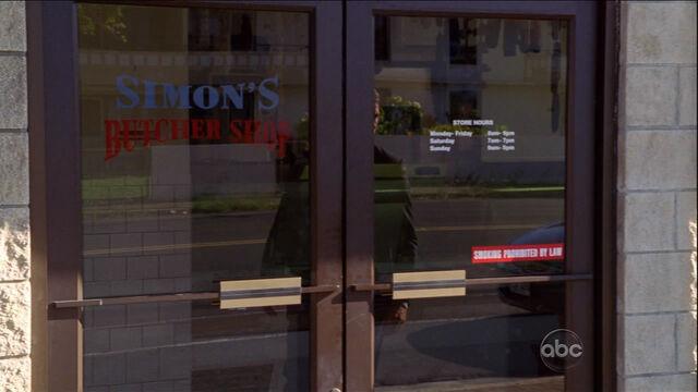 Archivo:Simon's Butcher Shop.jpg