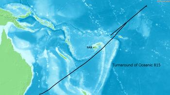 Turnaround of Oceanic 815 02