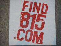 Find 815 LA sticker 1