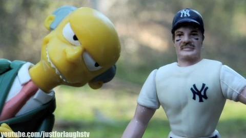 LOST Parody 8 - NY Yankees