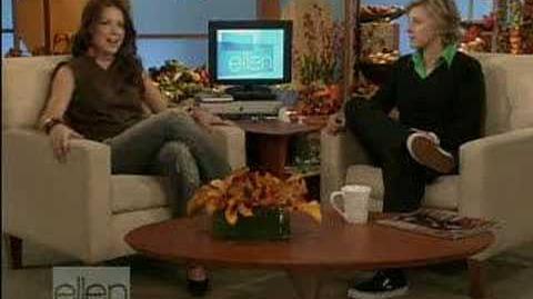 Evangeline Lilly on Ellen Degeneres 11 18 05
