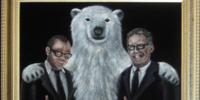 Damon, Carlton and a Polar Bear