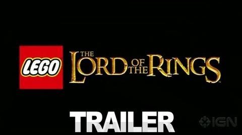LEGO Lord of the Rings Trailer