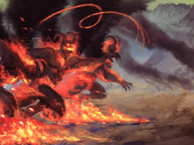 File:Haste of the Balrogs by Viking-Heart.png