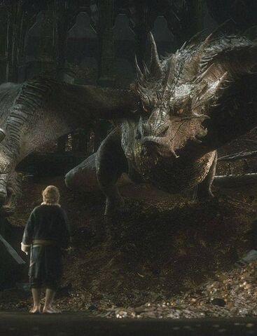 File:Smaug meets Bilbo.jpg