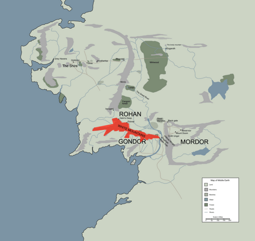 File:WHITE MOUNTAINS location map in middle earth.PNG