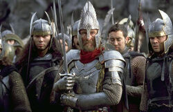 Elendil during the Last Alliance