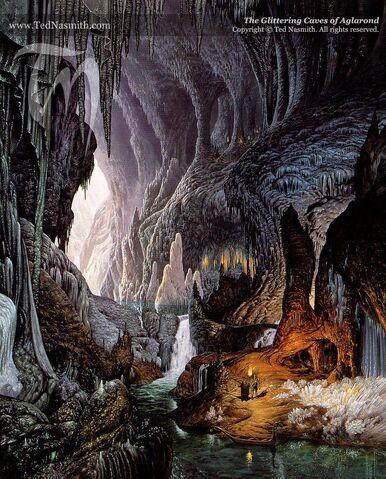 File:Ted Nasmith - The Glittering Caves of Aglarond.jpg