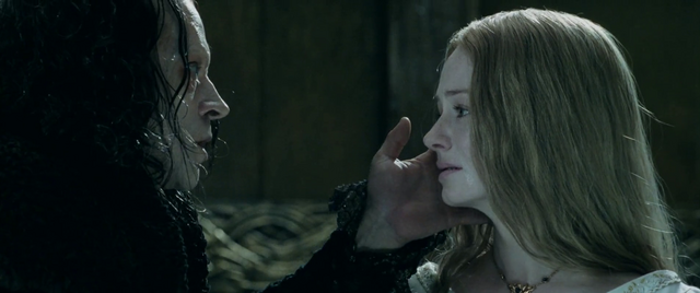 File:Grima and Eowyn - Two Towers.png