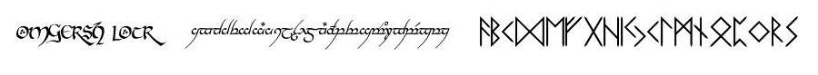 Elvish, Runes