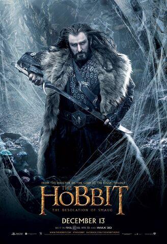ملف:Hobbit the desolation of smaug thorin-armitage poster2.jpg
