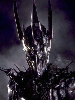 the villain from Lord Of The Rings, Sauron