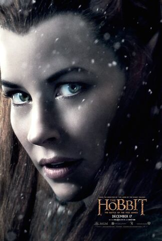 File:Tauriel TBOT5A Poster.jpg