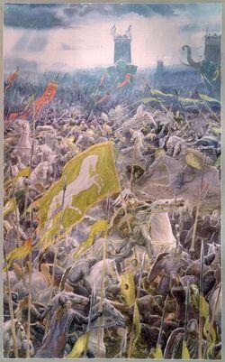 Alan Lee - Battle of the Pelennor Fields