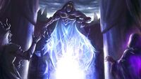 Captain Carthaen's soul became corrupted by Morgomir and the Sorcerers of Angmar