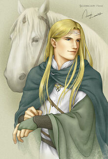Finrod by Anna Lee