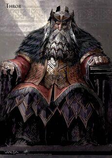 King Thror concept art