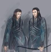 Elladan twins