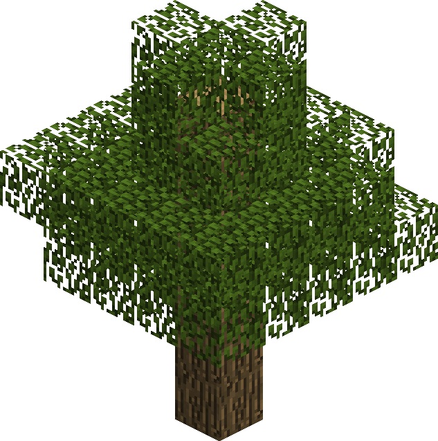 how to grow a giant oak tree in minecraft