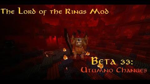 The Lord of the Rings Mod Beta 33 Utumno Changes