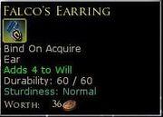 FalcosEarring