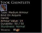 TookGauntlets