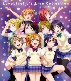 Love Live! µ's Live Collection Blu-ray Jacket