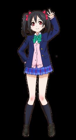 File:Yazawa Nico Character Profile (Pose 1).png