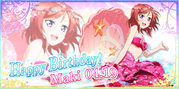 Happy Birthday, Maki! 2016