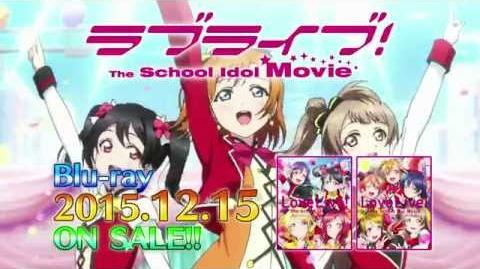 Love Live! The School Idol Movie BD Contents PV