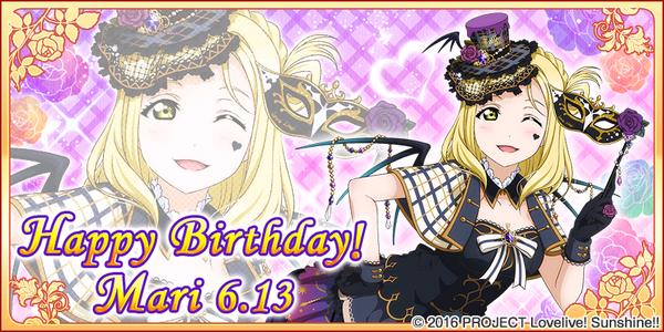 Happy Birthday, Mari! 2017