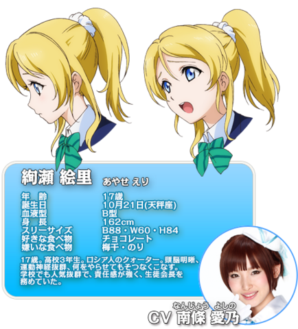 File:Ayase Eli Character Profile.png