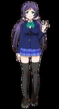 Toujou Nozomi Character Profile (Pose 1)