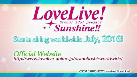 """Love Live! Sunshine!!"" Trailer for TV Anime Program (Offical) ENG"