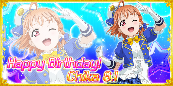 Happy Birthday, Chika! 2016
