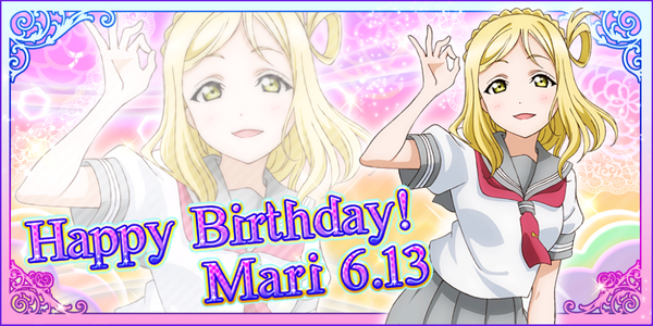 Happy Birthday, Mari! 2016