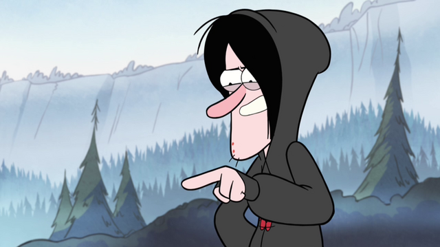 File:Robbie pointing in park.png