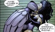 Superwoman and owlman