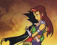 Teen Titans Robin and Starfire 9292923