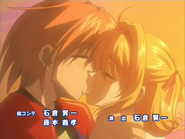 Lucia & Kaito Kiss S1E52